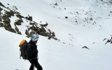 Sci alpinismo di primavera al Monte Maniglia. Foto A.Gerthoux