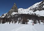 Sci Nordico al Campo Base – foto K. Gentile