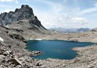 Brec de Chambeyron e Lago dei Nove Colori. Foto E.Collo