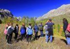 Studenti alla scoperta della Valle Maira coi programmi didattici di Campo Base. Foto E. Collo