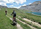 Tour dell'Oronaye in Mountain Bike. Foto A. Gerthoux